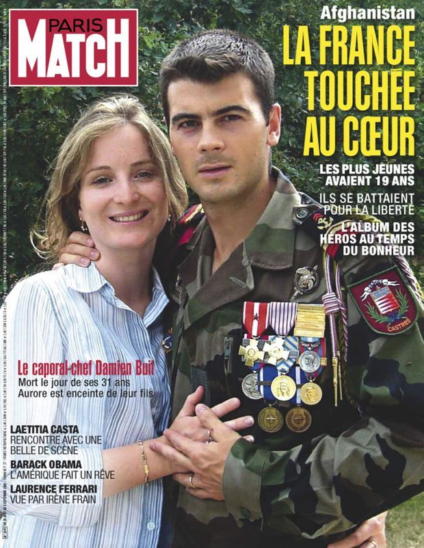 PARIS MATCH N° 3093, 28 AOÛT 2008