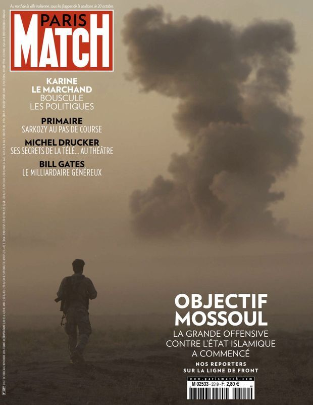 PARIS MATCH N° 3519 (ÉDITION INTERNATIONALE), 27 OCTOBRE 2016