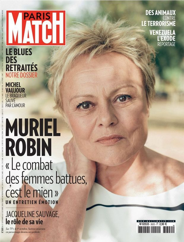 La Une de Paris Match n°3620.