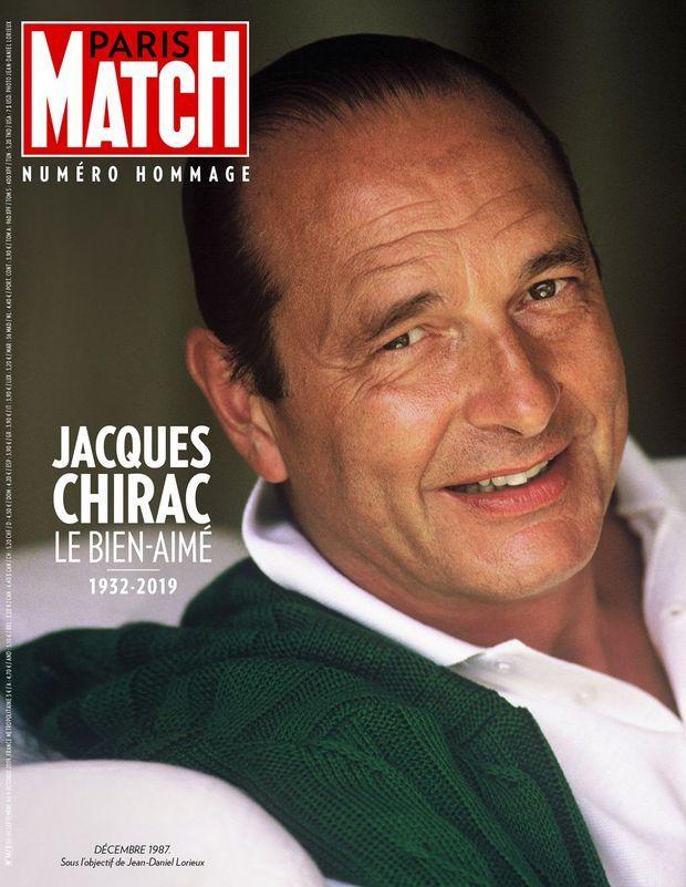 Paris Match numéro 3673, numéro hommage à Jacques Chirac.