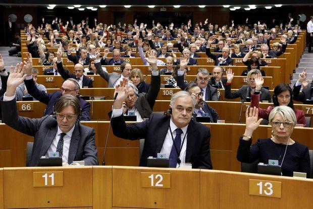 Le vote du Parlement européen jeudi.