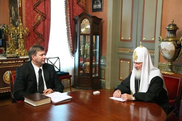 Patriarch Kirill with Breguet-
