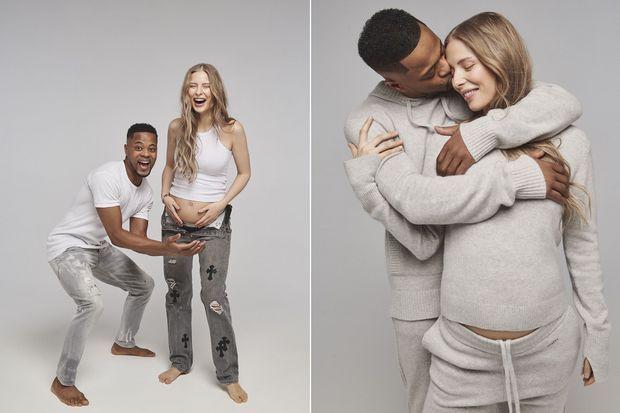 Patrice Evra et Margaux Alexandra seront parents d'un petit garçon en avril prochain.