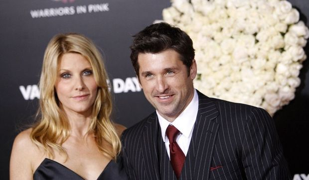 Patrick Dempsey et sa femme-