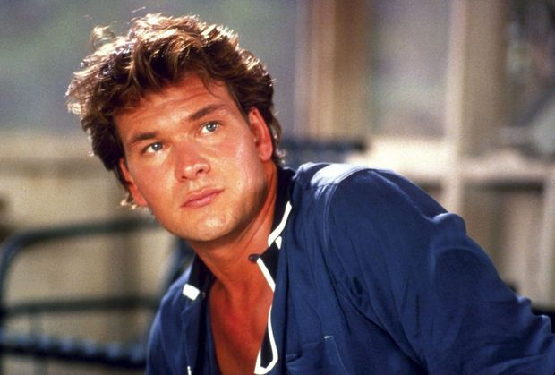 Patrick Swayze dans le film «Dirty Dancing», en 1987