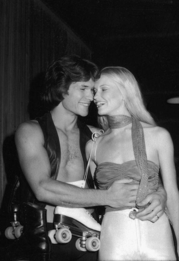 Patrick Swayze et son épouse Lisa, en 1979
