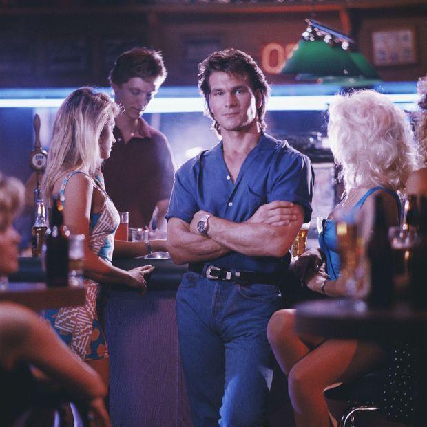 Patrick Swayze dans le film «Road House», en 1989
