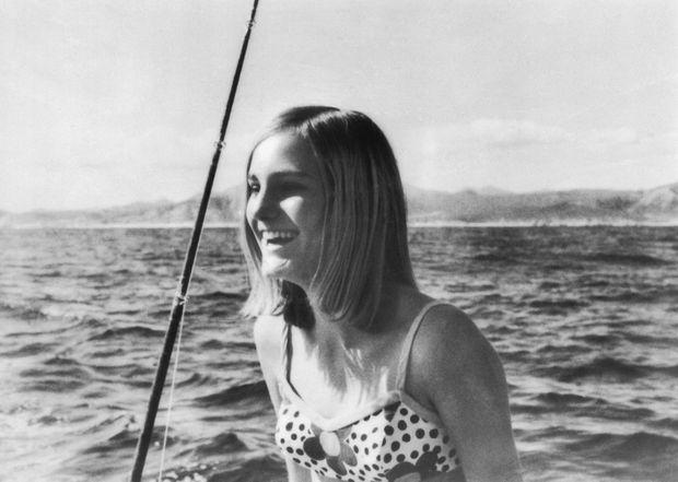 Photo de Patty Hearst peu avant son enlèvement, diffusée par la famille le 19 février 1974.