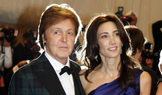 Paul McCartney et Nancy Shevell-