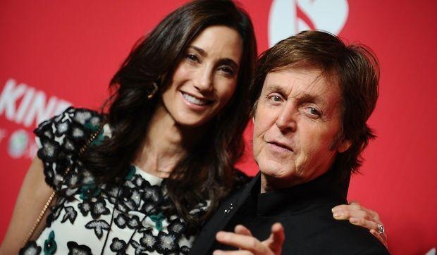 Paul McCartney et Nancy Shevell-