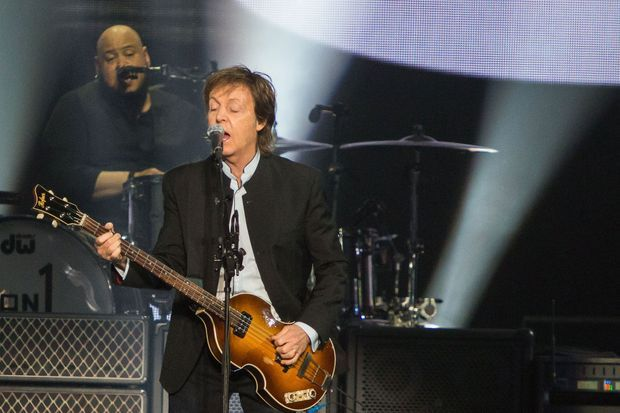 Paul McCartney sur scène