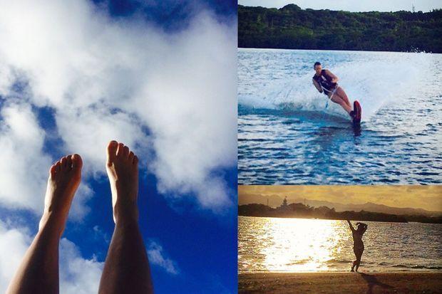 Photos postées par Pauline Ducruet sur son compte Instagram