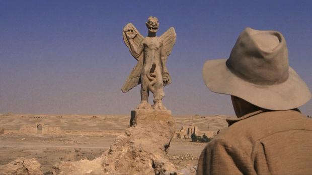 La statue de Pazuzu dans l'Exorciste