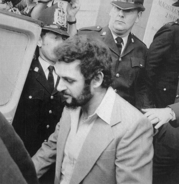 Peter Sutcliffe, en janvier 1981, lors de son procès.