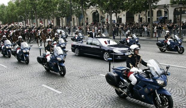Peugeot 607 Palladine Sarkozy-