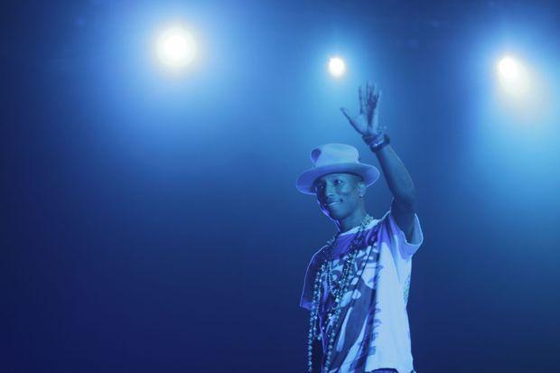 Pharrell Williams à Toulouse