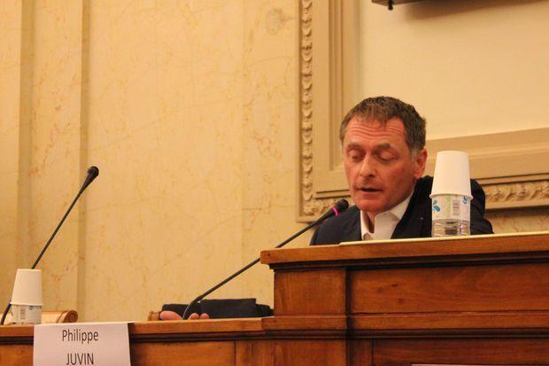 Député européen, Philippe Juvin représentait l'UMP.