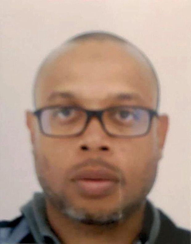Photo d'identité du tueur islamiste qui a assassiné, le 3 octobre, quatre de ses collègues.