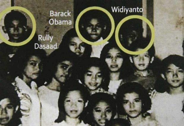 photo de classe de Barack Obama - ATTENTION mauvais format-