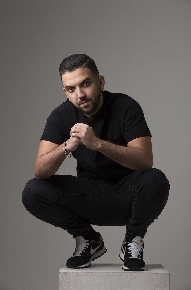 Jhon Rachid, un youtubeur engagé.