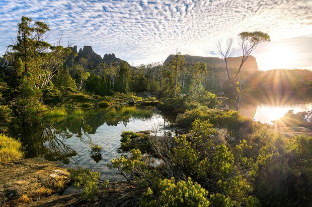 Les étendues sauvages de l'ouest de la Tasmanie