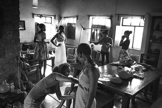Photo de mode Sud Soudan. Août 2013