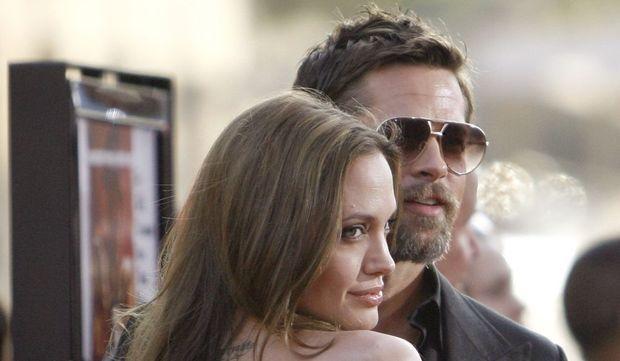 photos-culture-cinema-Angelina Jolie et Brad Pitt - première d'Inglourious basterd--