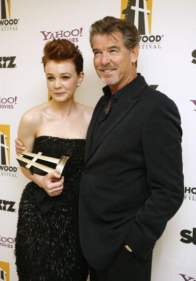 photos-culture-cinema-hollywood-film-festival-Carey Mulligan et Pierce Brosnan--