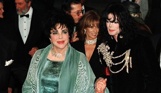 photos-culture-cinema-Liz Taylor Michael Jackson--