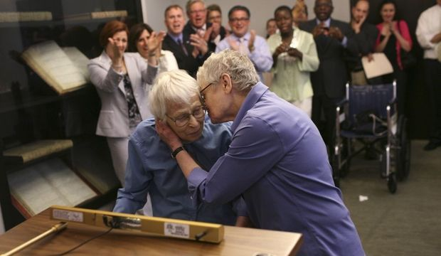 Phyllis Siegel et Connie Kopelov-