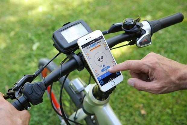 Le Wi-Bike de Piaggio peut être associé à votre smartphone pour pédaler «intelligent».