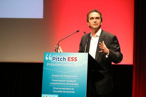 Pierre Danon à Paris, le 23 novembre. Il a été directeur adjoint de la campagne de la primaire de François Fillon.