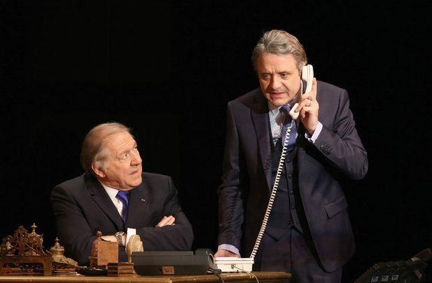 Pierre Santini et Eric Laugerias,