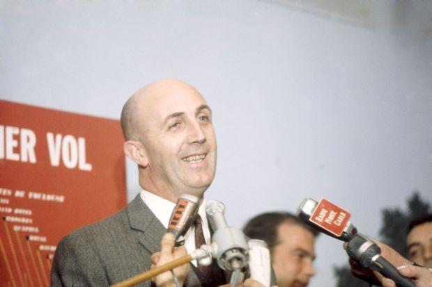 e 2 mars 1969, le premier vol du Concorde avec André Turcat aux commandes : la conférence de presse.