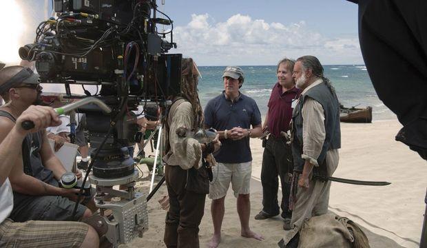 Pirates des Caraïbes Tournage-