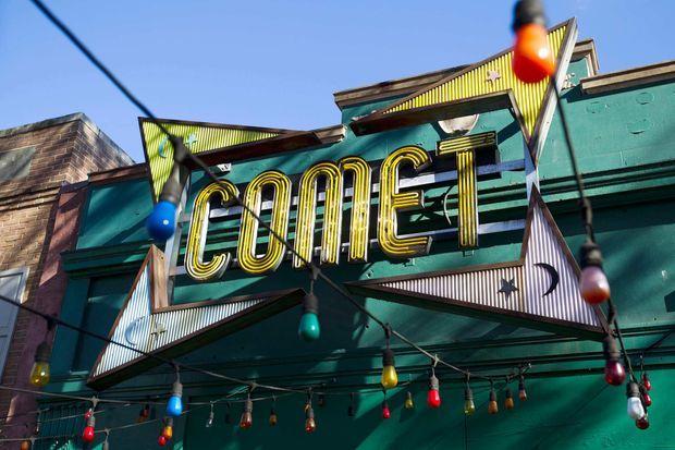 Comet Pizza, le restaurant au coeur de la rumeur du Pizzagate. Un homme y a ouvert le feu, sans faire de victime, en décembre 2016.