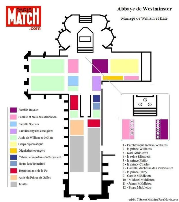 plan westminster mariage william-