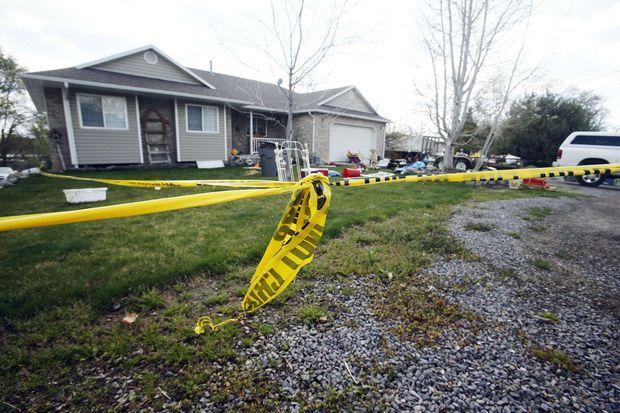 C'est dans cette maison de Pleasant Grove que les cadavres étaient stockés.