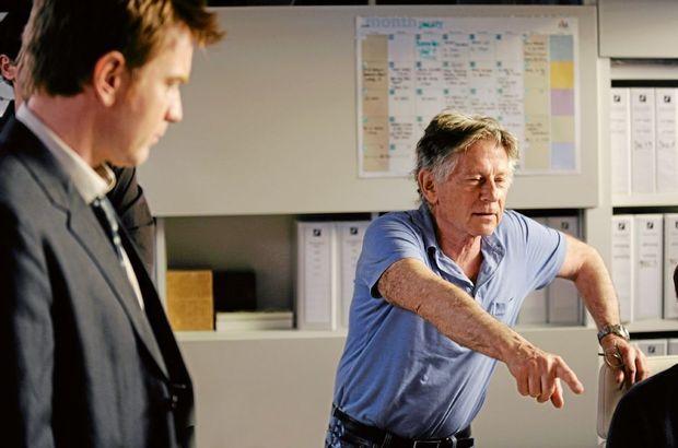 Polanski sur le tournage