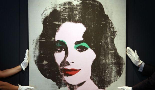 Portrait Elizabeth Taylor-