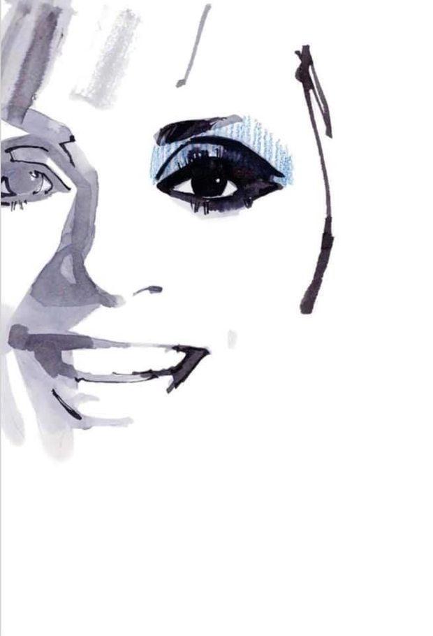 """Ce portrait d'Annie Cordy figure dans l'ouvrage """"Paris"""" de Marc-Antoine Coulon, sorti le 4 septembre."""