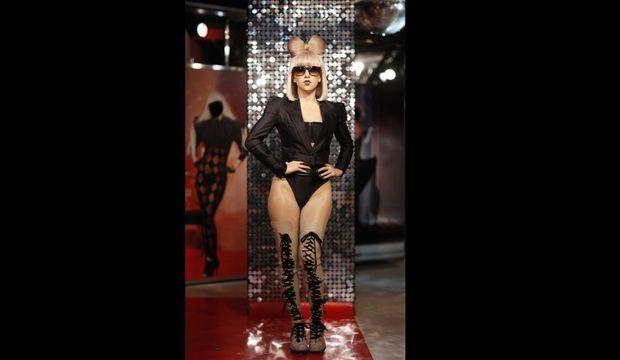 Poupée de cire Lady GaGa au musée Tussauds de Berlin-