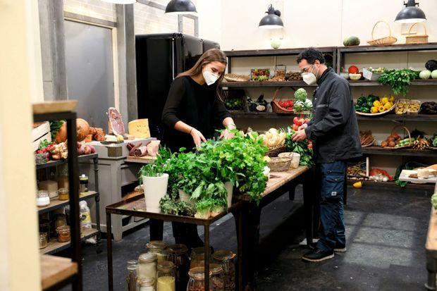 Pour le garde-manger, c'est la régie cuisine qui veille à la propreté des produits.