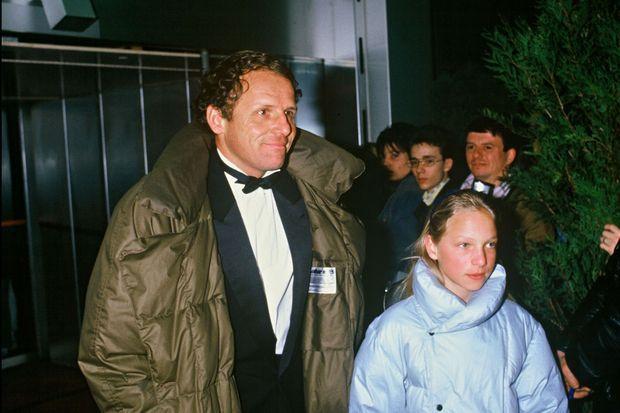 PPDA et Solenn à la cérémonie des César 1987.