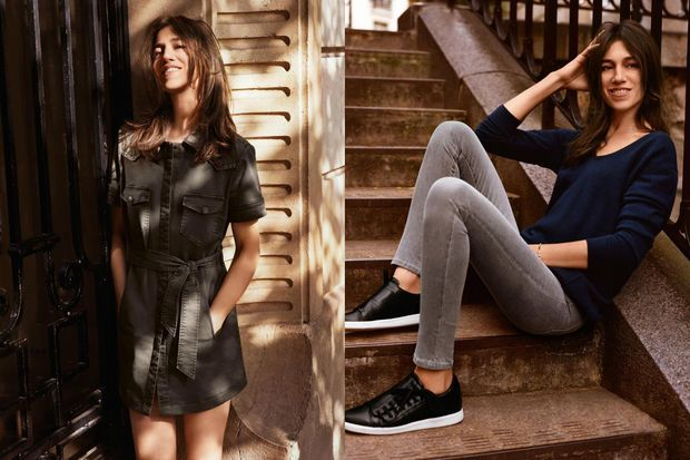 Charlotte Gainsbourg pour la nouvelle campagne de la marque.
