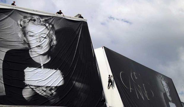 préparatifs 65e Festival de Cannes-