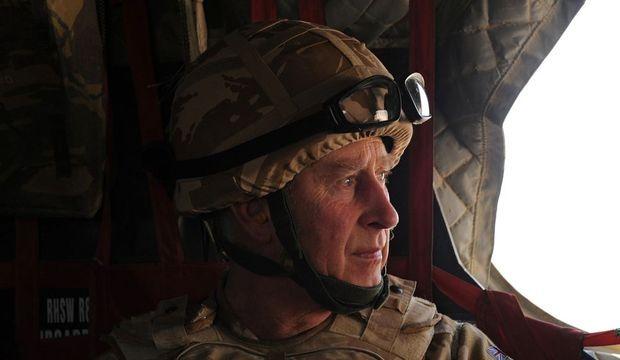 Prince Charles en Afghanistan-