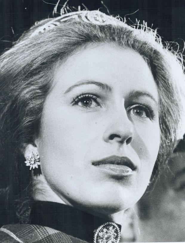La princesse Anne au Canada, en novembre 1974.