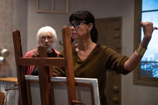 Pierre Richard et Mathilda May lors des répétitions.