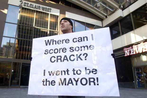"""""""Où puis-je avoir du crack? Je veux être le maire!"""""""